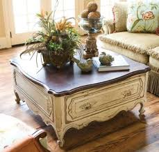 French Country Style Coffee Table
