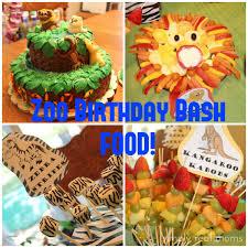 Zoo Birthday Bash Food Birthday Ideas Pinterest Fete Enfant