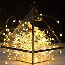 deko licht silber led string girlande licht 2m 20leds mini