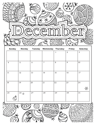 Added Jan 9 Start Your Year Off Right With This Colorable Calendar For The