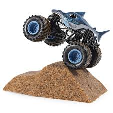 100 Monster Trucks Videos 2013 Amazoncom Jam Megalodon Dirt Starter Set