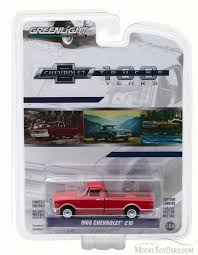 1968 Chevy C-10 100th Anniversary Of Chevy  Truck, Red - Greenlight ...