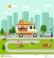 City Landscape With Cartoon Pizza Van Stock Vector - Illustration Of ... Pizza Quixote Review Rotissol And Greens Cuban Sandwich Lunch From The Big Green Truck 4 Food City Car Auto Cafe Mobile Kitchen Disney Pixar Toy Story Imaginex Planet With Sheriff Trucks In New Haven Ct Funny Cartoon Delivery Van Flat Stock Photo Vector Wedding Photos 1 Fritz Photography Hidden Gem Authentic Wood Fired Unique Vintage Event Catering Glutenfree Natural Exchange 3 Illustration Red 427970995