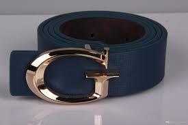 august men belt g word smooth buckle belt high quality luxury