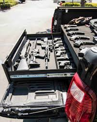 100 Truck Bed Gun Storage BOSS StrongBox