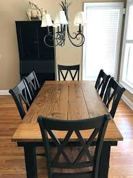 Reclaimed Wood Farmhouse Table Best For Steel X Base Pine
