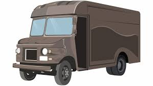 100 Delivery Truck Clipart Ups Clipart Clipground