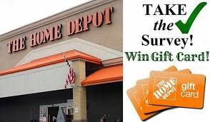 Home Depot Opinion Survey Sweepstakes Win $5 000 Home Depot t