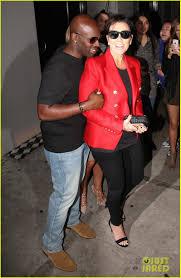 Kyle Richards Halloween by Kris Jenner U0026 Corey Gamble Walk Arm In Arm For Dinner Date Photo