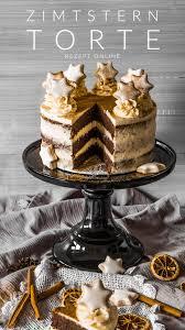 zimtstern torte