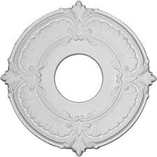 2 Piece Ceiling Medallion Canada by Shop Ceiling Medallions At Lowes Com