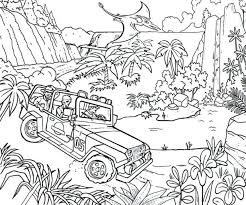Free World Park Coloring Pages Jungle Book To Print Colouring Printable Scene