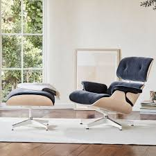 Eames® Tall Lounge Chair And Ottoman – Open Room