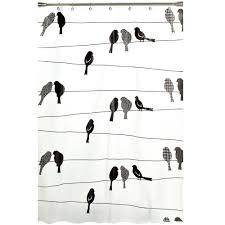 saturday knight birds on a wire 70 in w x 72 in l peva shower