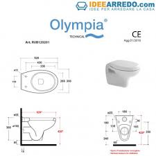 wc wand hing billig wc rubino olympia