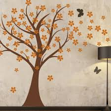 Wall Mural Decals Flowers by Amazon Com Cherry Blossom Wall Decals Baby Nursery Tree Decals