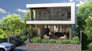 100 Block House Design Narrow S Perth Narrow Lot Modern House