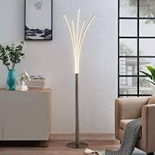 lindby led stehle boba modern in alu aus aluminium ua für wohnzimmer esszimmer 1 flammig a inkl leuchtmittel led stehleuchte floor