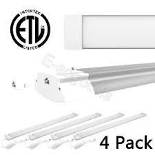 4 Pack 5700K 42W Utility LED Shop Light Garage Workbench Ceiling