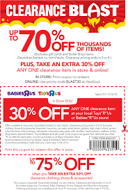 Pinned July 7th: Extra 30% Off A Single Clearance Item At Toys R Us ... Mattel Toys Coupons Babies R Us Ami R Us 10 Off 1 Diaper Bag Coupon Includes Clearance Alcom Sony Playstation 4 Deals In Las Vegas Online Coupons Thousands Of Promo Codes Printable Groupon Get Up To 20 W These Discounted Gift Cards Best Buy Dominos Car Seat Coupon Babies Monster Truck Tickets Toys Promo Codes Pizza Hut Factoria Online Coupon Lego Duplo Canada Lily Direct Code Toysrus Discount