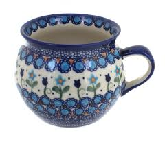 Savannah Turquoise Kitchen Canister Set by Blue Rose Polish Pottery Savannah