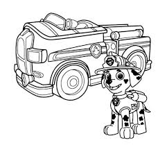 100 Fire Truck Template Coloring Page At GetColoringscom Free Printable