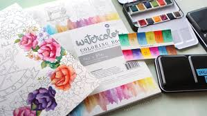 New Watercolor Pan Sets From Prima Coloring Book Review Kwernerdesign Blog