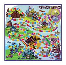 Candyland Gameboard My Style By RhettCandy
