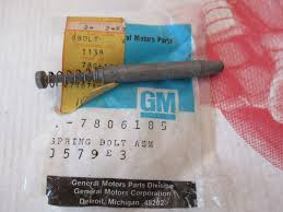 NOS GM STEERING Column Lock Bolt 1979-1988 Chevy Gmc Truck Van ... 1988 Chevy Truck Interior Parts Nos Gm Steering Column Lock Bolt 791988 Gmc Van 88 94 Amazoncom Windshield Washer Pump With Grommet Fits Front Chevrolet C K Wikiwand Types Of 1983 195588 Chassis Black Spray Paint Semi Gloss Image 1966 C10 C20 Custom Silverado All About Performance Chevelle Super Magazine 1998 Accsories Photos Sleavinorg For 8898 Chevygmc Ck 1500 2500 3500 Manual Towing Side