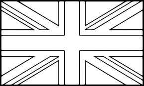 Flag Coloring Pages Free Printable British Page London England Uk