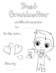 We Love You Grandma Coloring Pages Inside