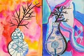 Cassie Stephens Elementary Art Lesson