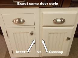 Amish Cabinet Makers Wisconsin by Inset Kitchen Cabinets Beaded Inset Vs Plain Inset Kitchens