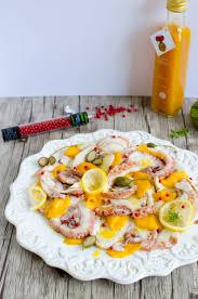 cuisiner le poulpe salade folle de poulpe à la mangue