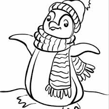 Animals Coloring Pages Gt Penguin