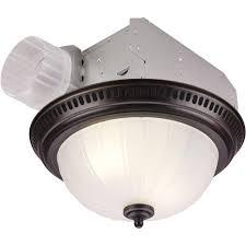 Nutone Bathroom Exhaust Fan by Nutone Decorative Bronze 70 Cfm Ceiling Exhaust Fan With Light