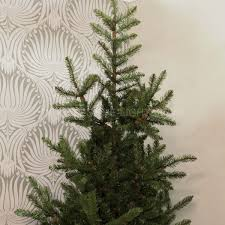 Silvertip Christmas Tree by Collection 2m Noble Spruce Christmas Tree