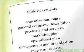 How To Write A Business Plan With Sample Plans
