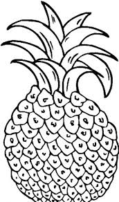 Pineapple Coloring Pages 5