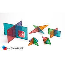 magna tiles clear colors 48 dx set castle