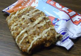 Pumpkin Pie Mcdonalds by Grubgrade Product Review Spiced Pumpkin Pie Clif Bar