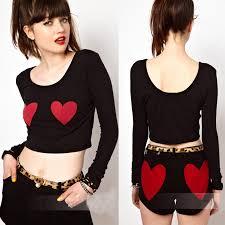 Womens Tops Fashion 2014 Long Sleeve Shirt Women Blusas Femininas Crop Top Teenage Girls Sexy Tshirt Moleton Feminino Uk In T Shirts From