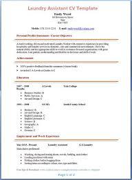 Sample Cover Letter For Laundry Supervisor
