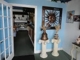 Greek 4 U Restaurant A Cute Little Atrium Welcomes You To The