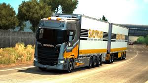 100 Euro Truck Simulator 2 Truck Mods Truck Simulator Tandem Mod Download