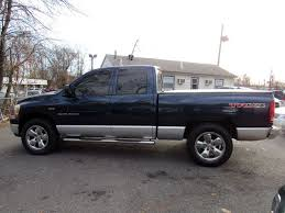 2006 Used Dodge Ram 1500 4dr Quad Cab 140.5 4WD SLT At Rahway Auto ...