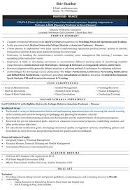 Sample Faculty Resume Download Lecturer Samples For Teaching Job With No Experience