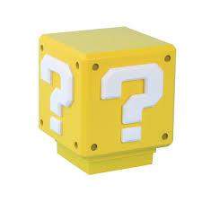 Mario Bros Question Block Lamp by Mario Mini Question Block Light Thinkgeek