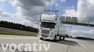 100 German Trucks Y Tests Electric Highway For YouTube
