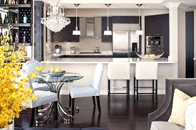 Transitional Light Fixtures Pendant Kitchen With Glass Dining Table Down Faucets Breakfast Bar
